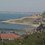 Útvonalbiztosítás Baku túra Onroad 20150611_A Kaszpi tenger partja