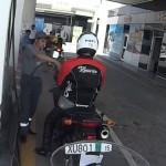 Útvonalbiztosítás Baku túra Onroad 20150611_A furcsa tankolás