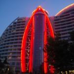 Útvonalbiztosítás Baku túra Onroad 20150611_A szálloda este