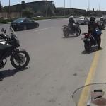 Útvonalbiztosítás Baku túra Onroad 20150611_Rendőri_ellenőrzés_001