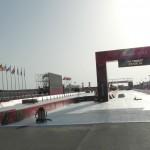 Útvonalbiztosítás Baku túra Onroad 20150611_Triatlon rendezvényközpont csendélet
