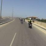 Útvonalbiztosítás Baku túra Onroad 20150611_Versenypálya bejárás