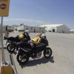 Útvonalbiztosítás Baku túra Onroad 20150613_Így pihennek az UBE motorosok