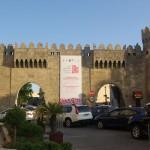 Útvonalbiztosítás Baku túra Onroad 20150613_A régi városkapu
