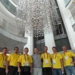 Útvonalbiztosítás Baku túra Onroad 20150615_Búcsúzás Nagy Alpártól