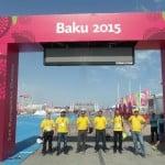 Útvonalbiztosítás Baku túra Onroad 20150615_Mi is elértük a célunk