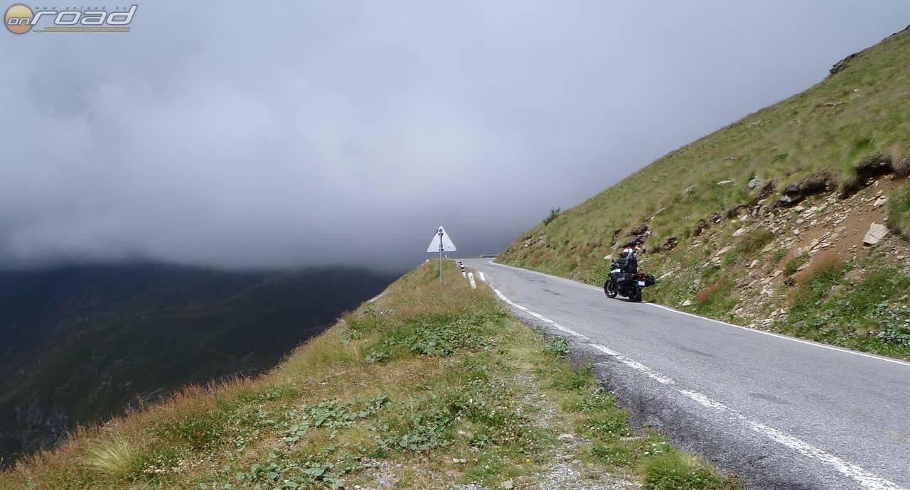 Passo Galvio, elértük a felhőket