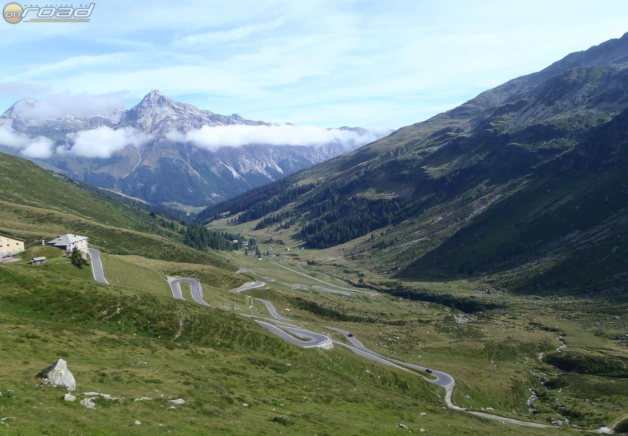 Svájc így fogad: Splügenpass