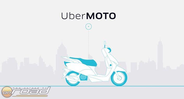 motoros taxi és ubermoto onroad 1