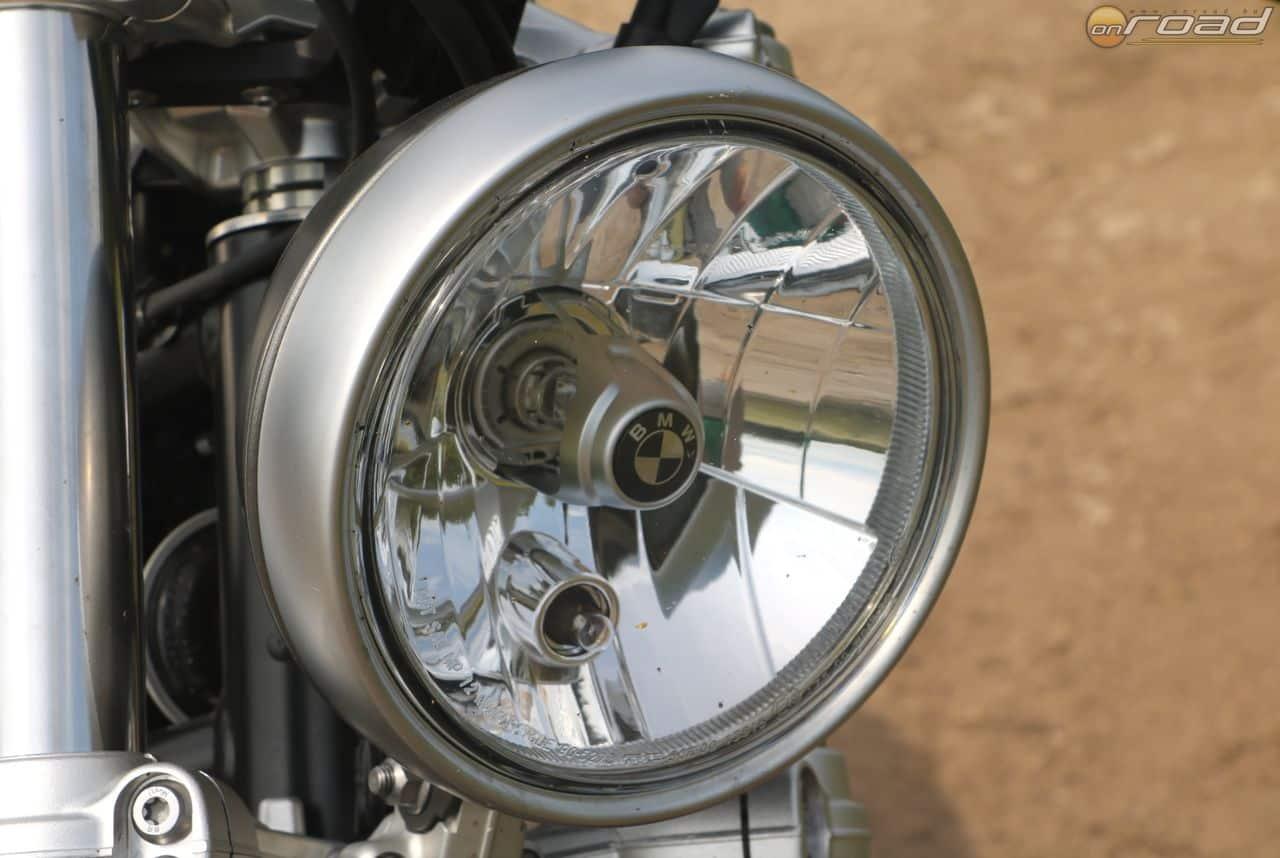 Stílus mindenek előtt: lámpa egy az egyben a sima R nineT-ről