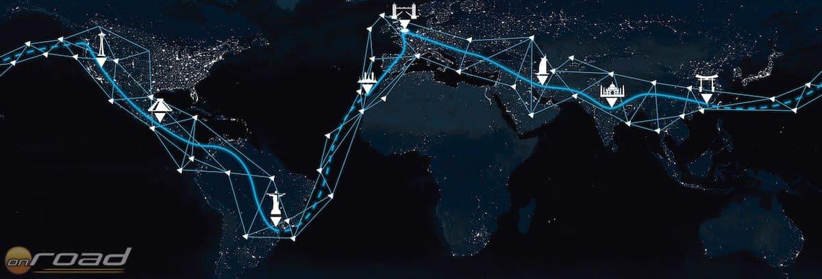 Az expedíció során mindenhol a helyi villamosenergia-hálózatból töltik az akkumulátor-cellákat