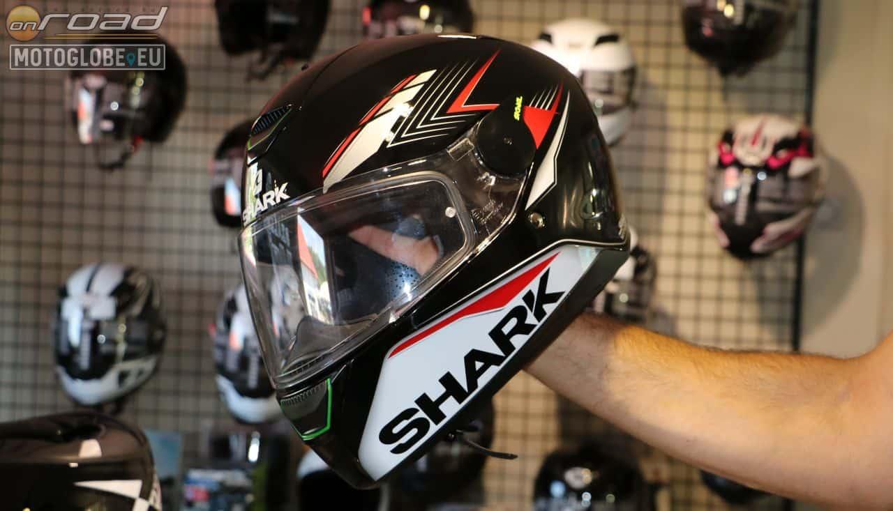 A Shark Skwal normál zárt bukósisak, amely sokféle dekorfényezéssel elérhető