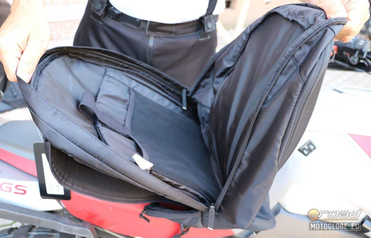Általános felhasználású hátizsák, egy nagy 25 literes rekesszel