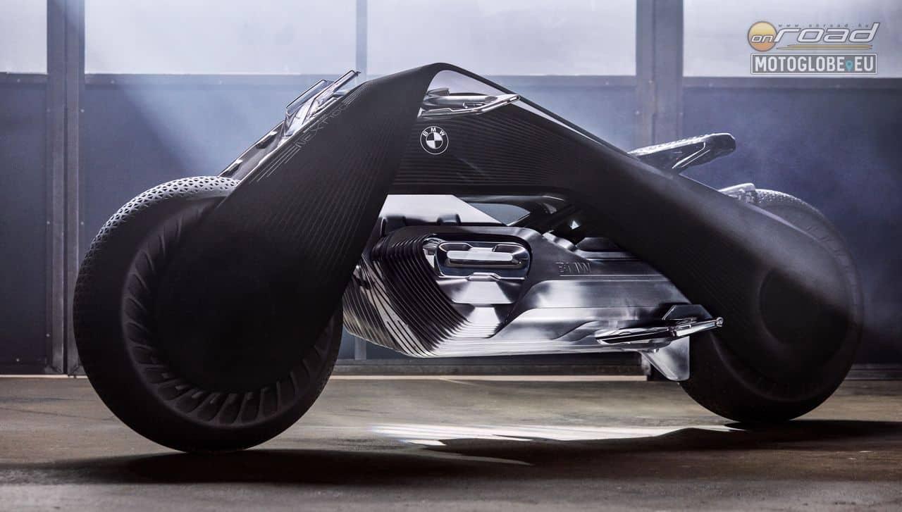 Innen nézve inkább Batman motorja lehetne, de nem: így képzeli a BMW a motorozást 30 év múlva
