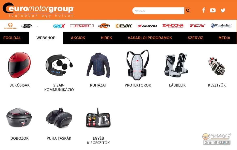 Termékcsoportok és márkák szerint keresve is villámgyorsan megtalálod, amire szükséged van