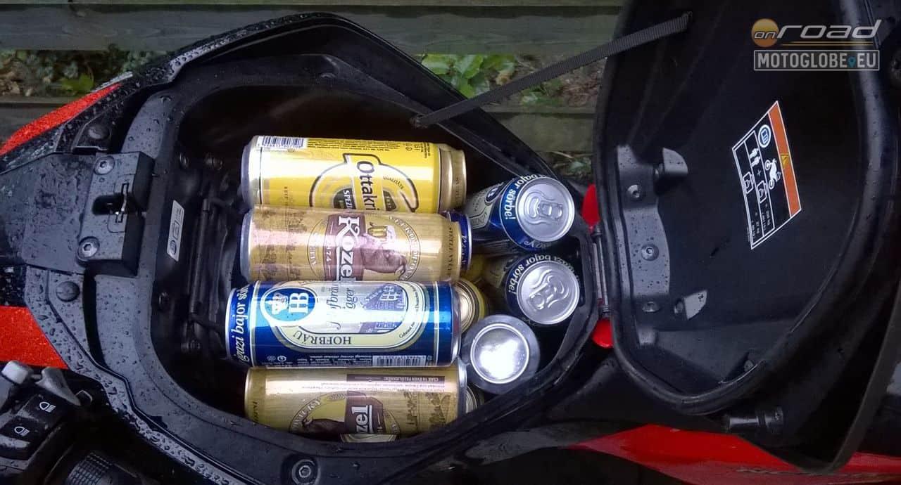 ...vagy 19 dobozos sör!