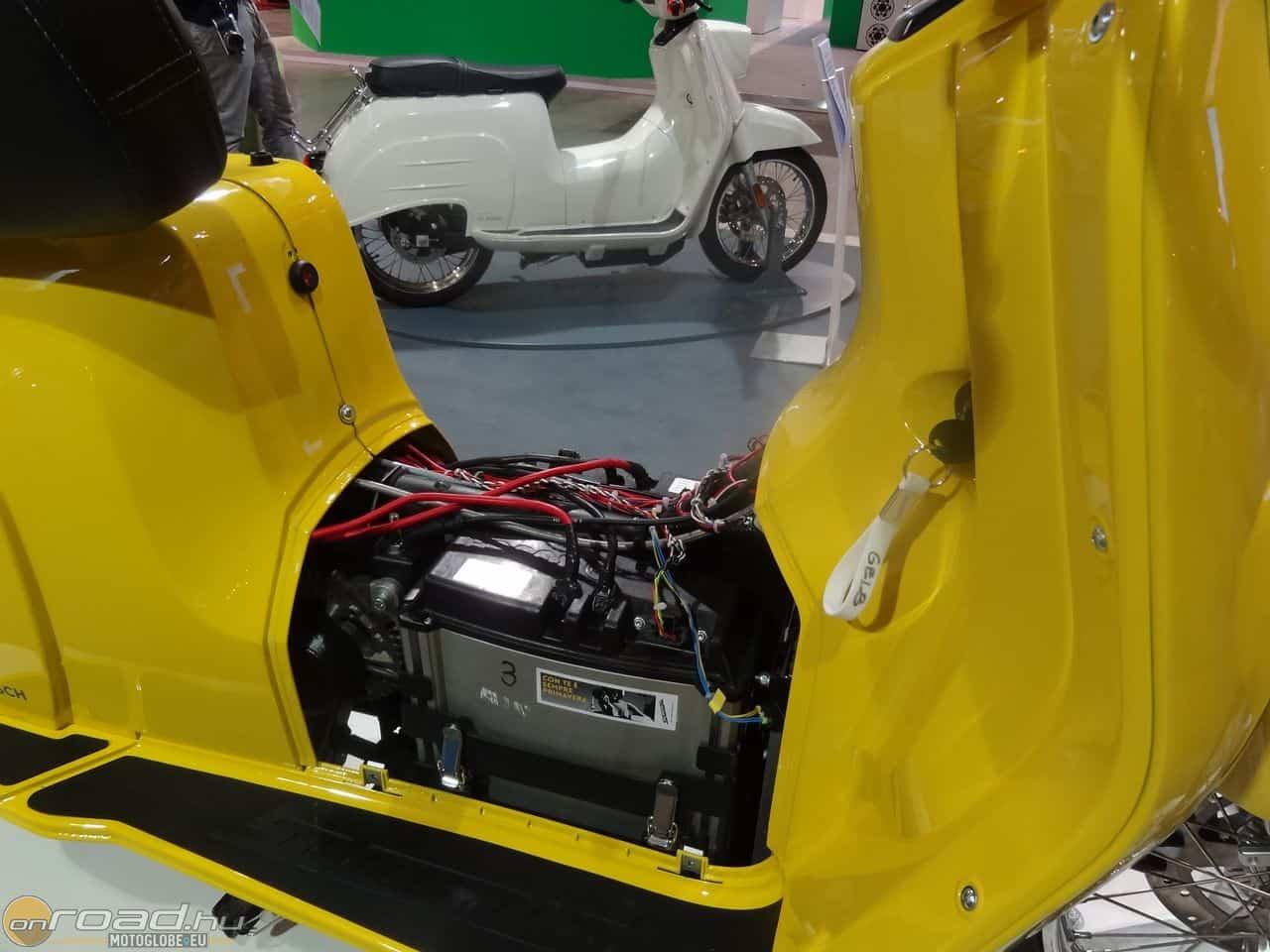 A műszaki alapokat a Bosch szállítja bele