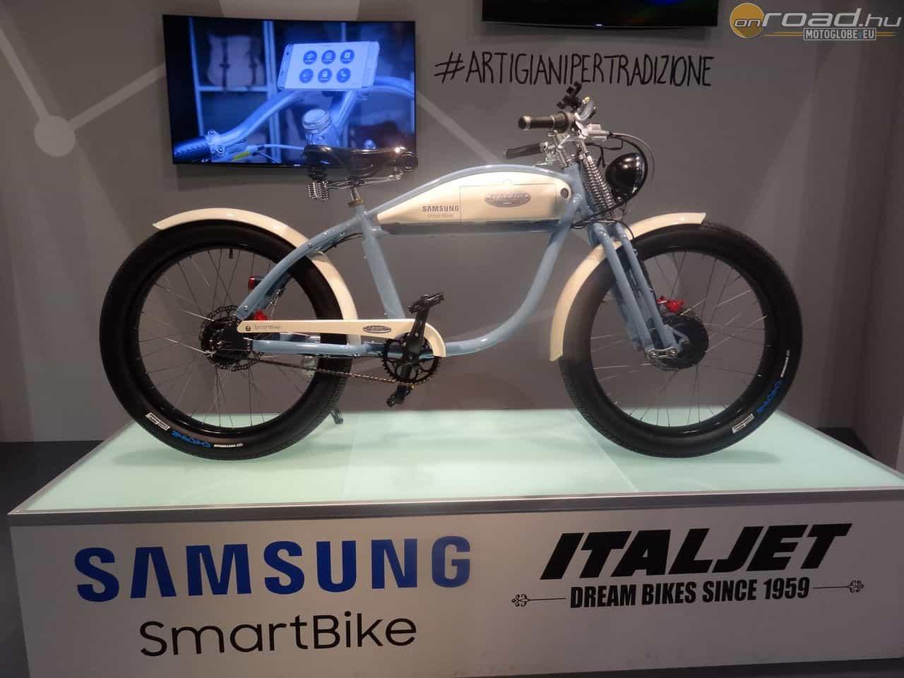 A Samsung SmartBike igazán stílusos nagyvárosi közlekedési eszköz - bicikli és motor egyszerre