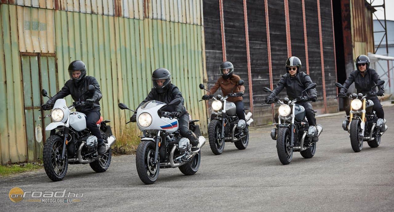 Teljes a család: Urban G/S, Racer, Scrambler, Pure és R nineT