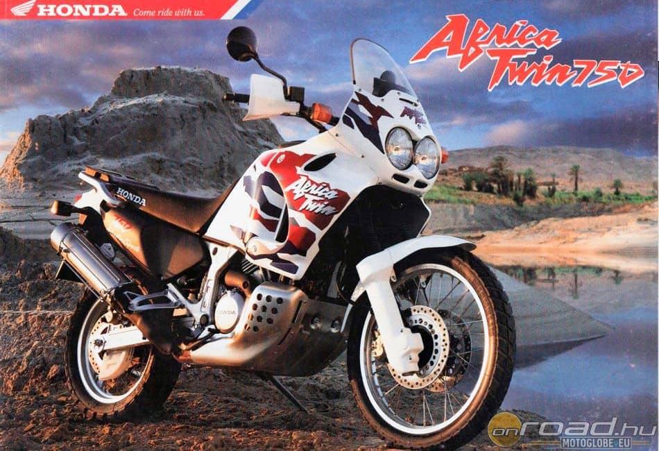 Az 1993-tól tíz éven át gyártott RD07 lett a legsikeresebb Africa Twin