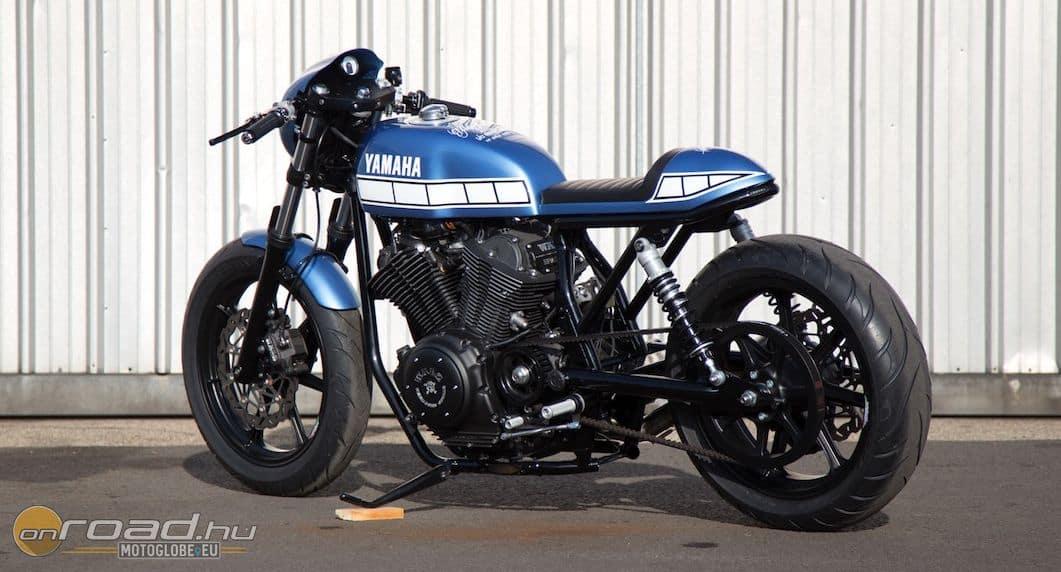 A mester célja a lehető legkönnyebb felépítés és legjobb motorozhatóság volt