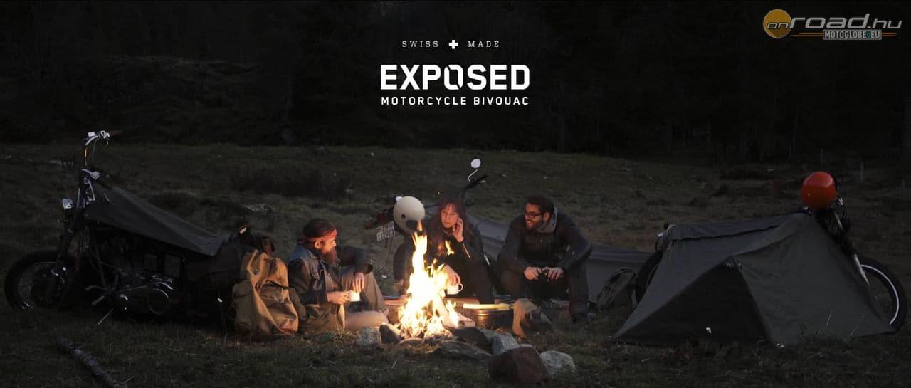 Szabadban kempingezéshez az igazi az Exposed Bivouac