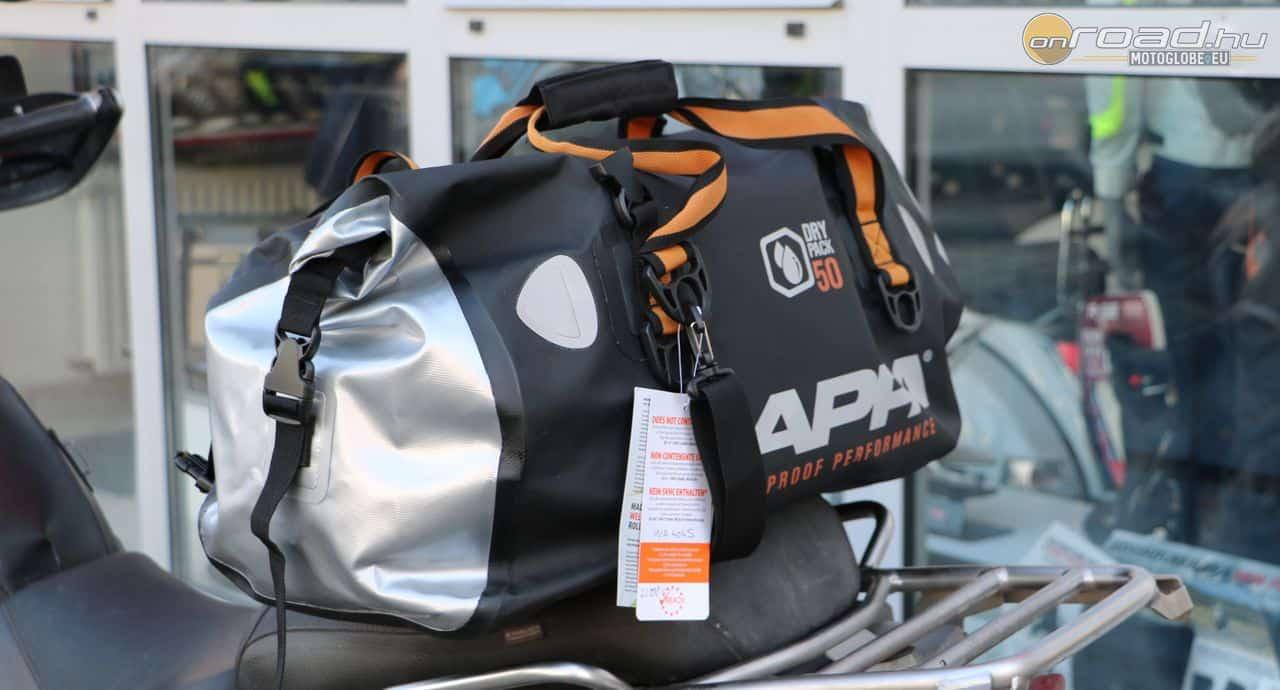 A legnagyobb DryPack egy elegáns táska, amely már 50 liter cuccot fogad magába