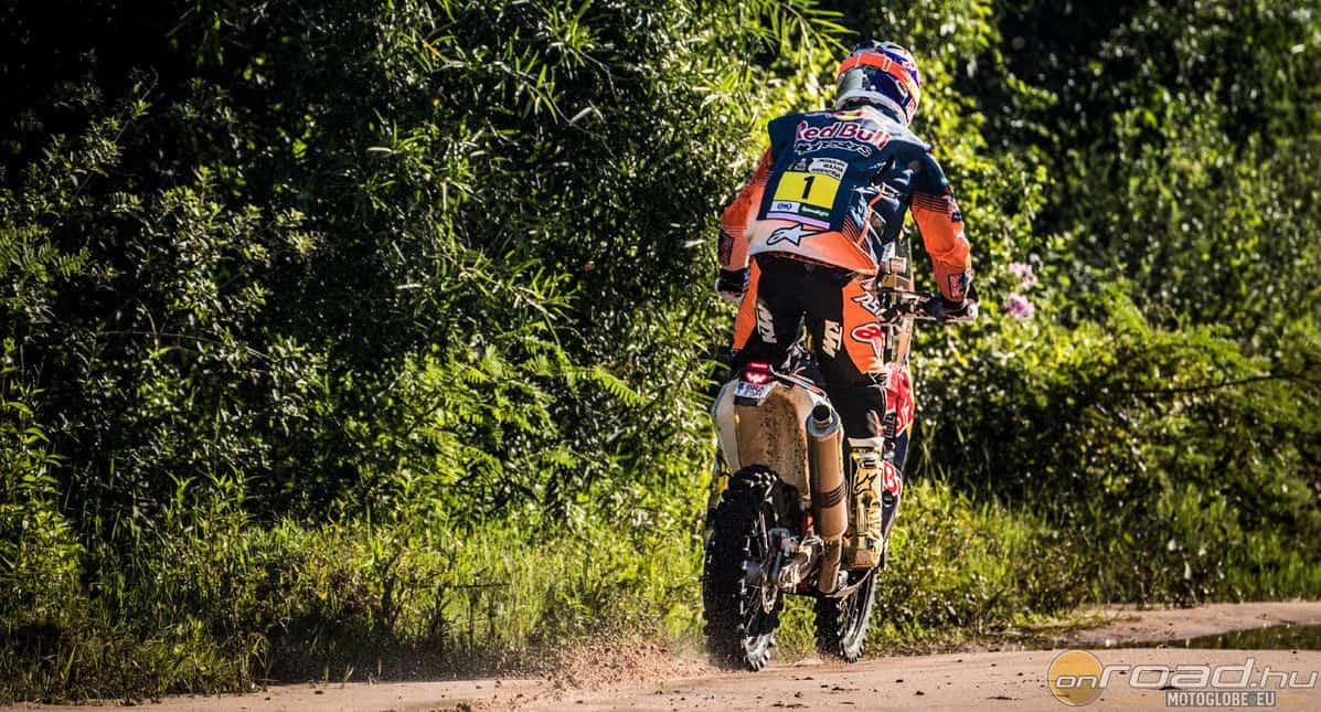 A címvédő Toby Price nagyon óvatosan kezdte a Dakart. Nem butaságból...
