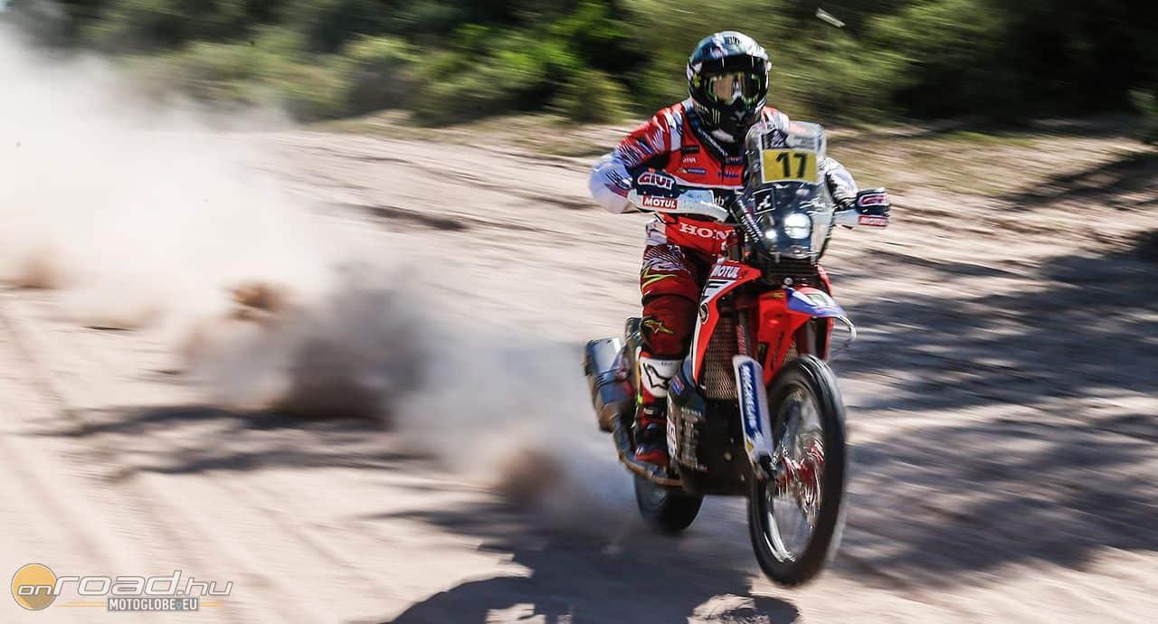 Paulo Goncalves a Honda legeredményesebb versenyzője a jelen állás szerint