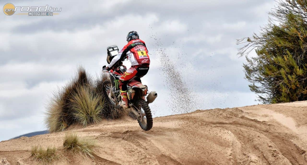 Így nyomta Ricky Brabec, hogy megnyerje élete első Dakar szakaszát