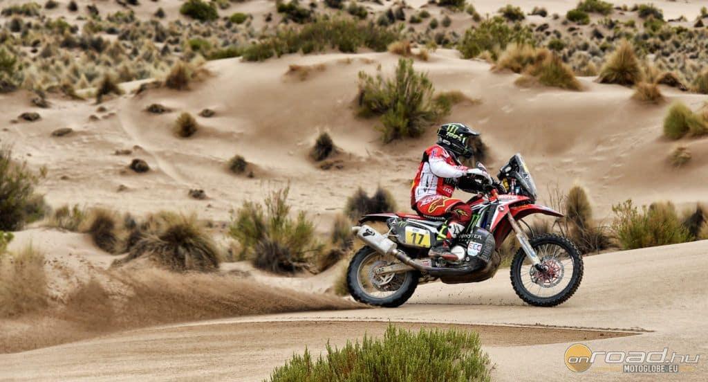 Paulo Goncalves lett a napi második