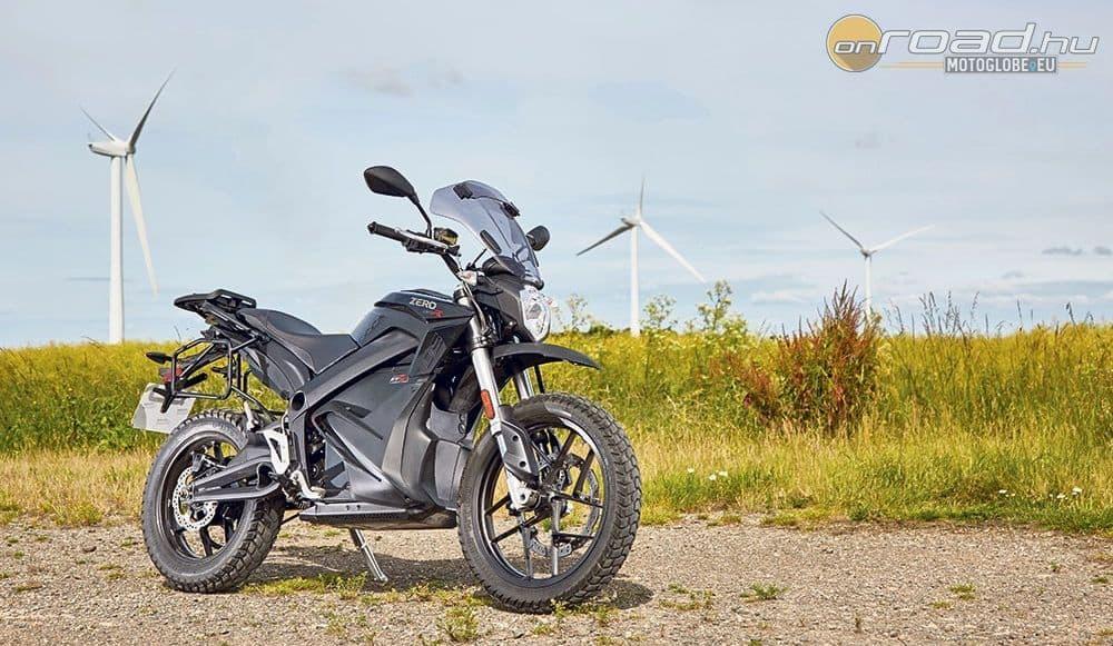 A Zero DSR már alkalmas egy normális motorozásra is, és nem is sárnehéz