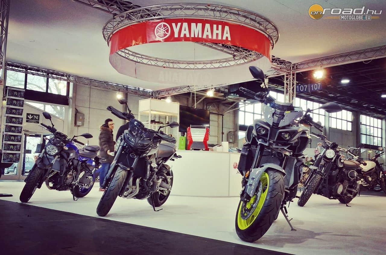 Együtt a család - Yamaha MT10 & MT09 & MT07