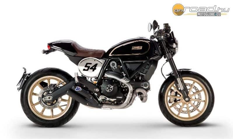 Ducati Scrambler Café Racer - szép hosszú neve van