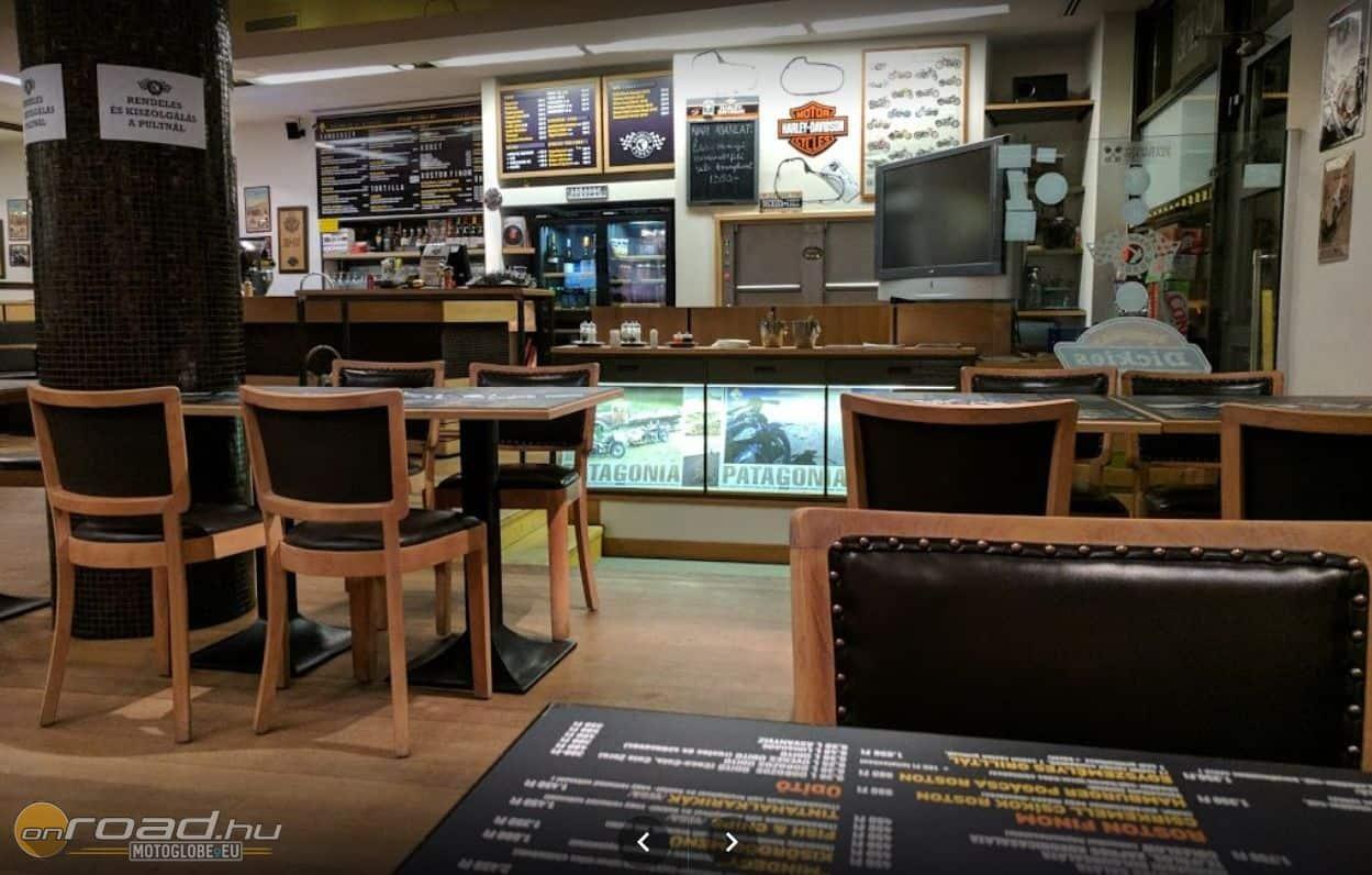 Adásunk helyszíne a Frankie's Burger - akik velünk tartanak, nem fognak éhesen hazamenni!