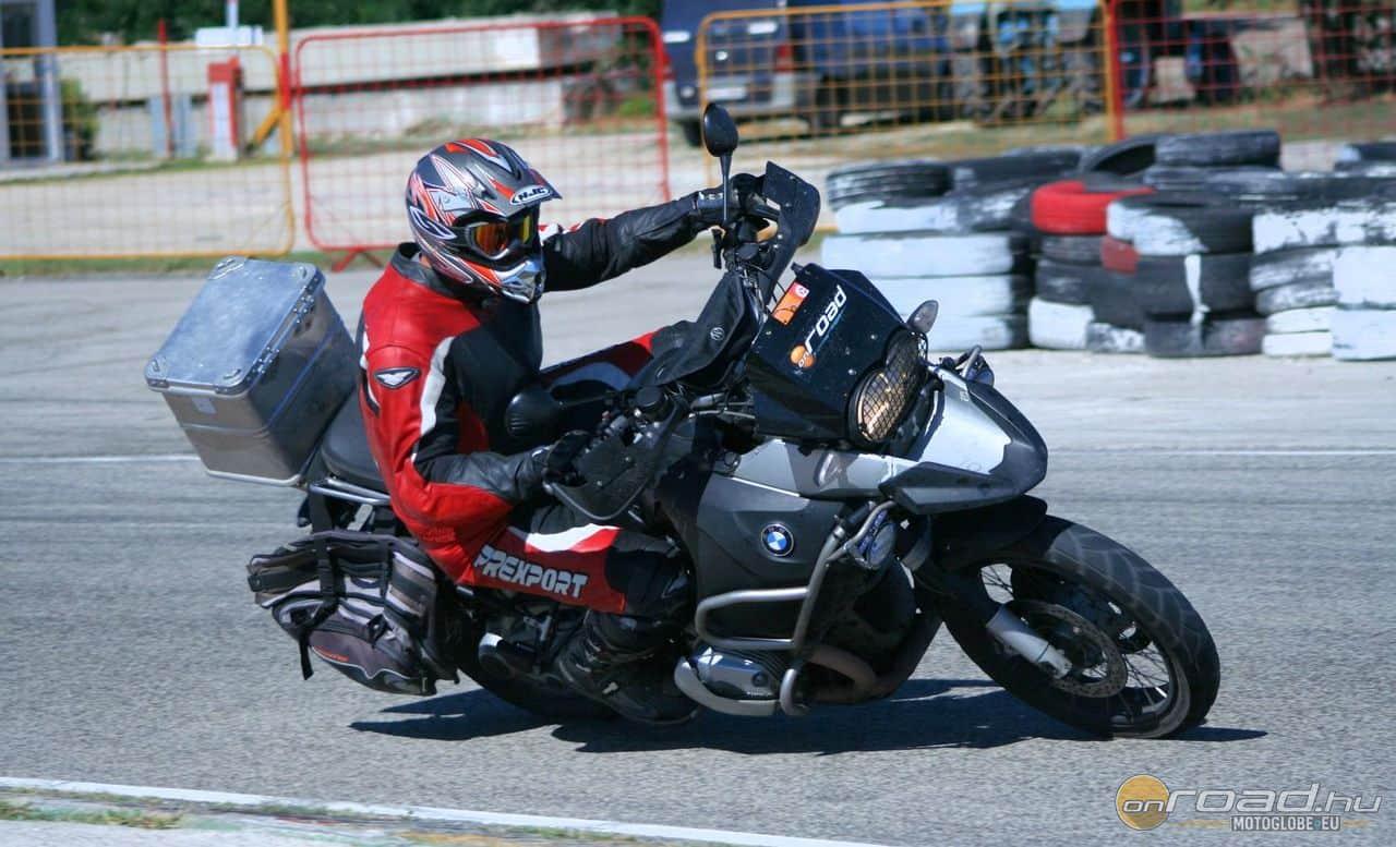 """Sokáig használtam a motort egy kettévágott """"sima GS"""" szélvédővel"""