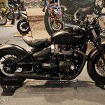 141 Triumph Bonneville Bobber Black
