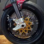 22 Yamaha Virago brake