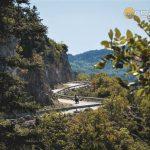 Riding around Parnonas mountain, Peloponnese