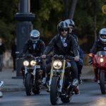 Motoros felvonulással hívták fel a figyelmet a prosztatarák megelõzésére Budapesten