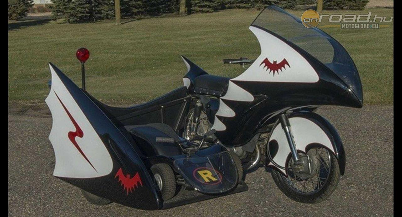 8adf30704016 Kétségtelenül klasszikus: Batcycle az Adam West érából