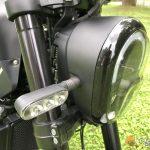 Az első lámpa formája kicsit változott az 500-hoz képest