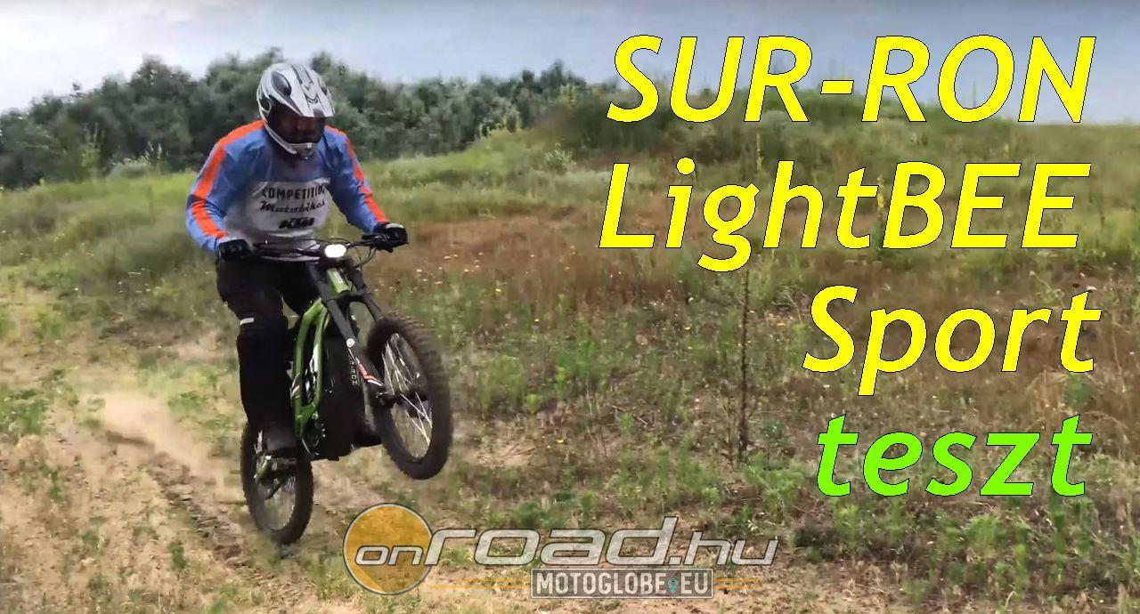 Egy új dimenzió: SUR-RON LightBEE elektromos enduro teszt